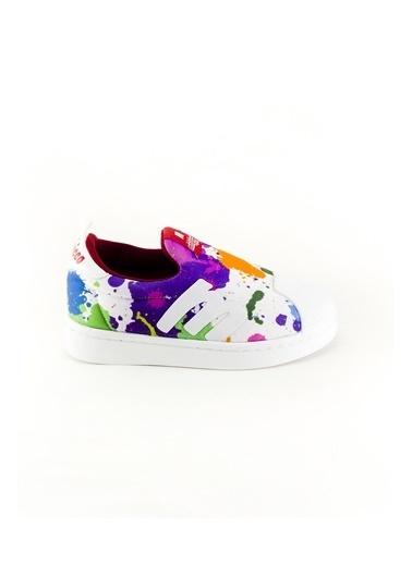 minipicco Unısex Boyalı Ortopedik Destekli Çocuk Spor Ayakkabı Renkli